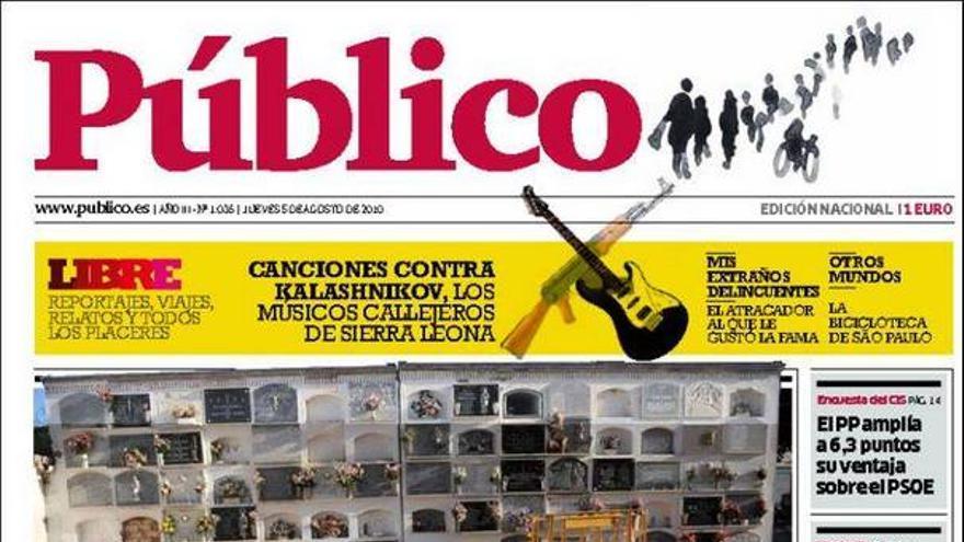 De las portadas del día (05/08/2010) #14