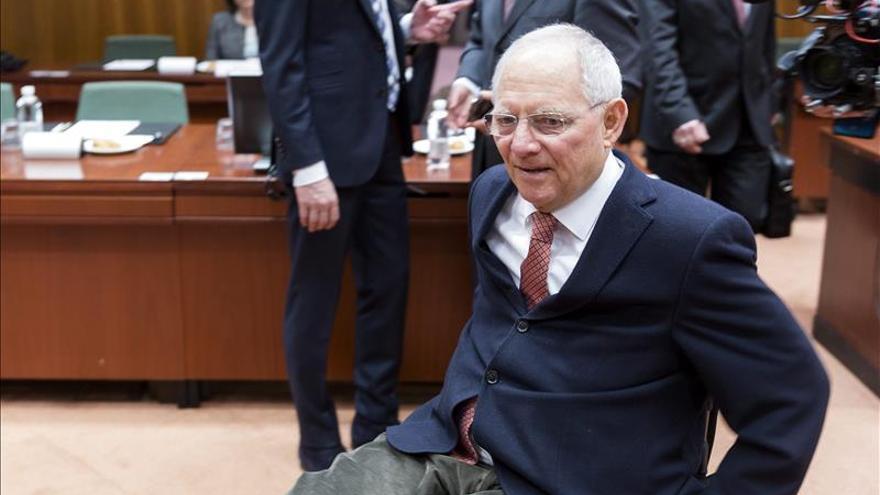 El ministro alemán de Hacienda, Wolfgang Schäuble.