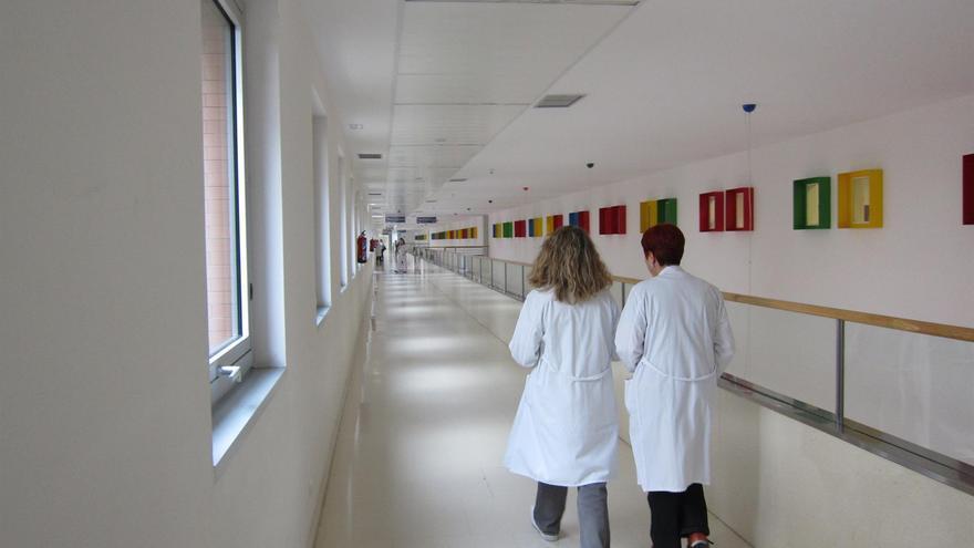 Personal sanitario en el Hospital Río Hortega, en Valladolid.
