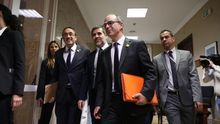 Los cuatro diputados presos ya están en el Congreso para asistir a la sesión constitutiva