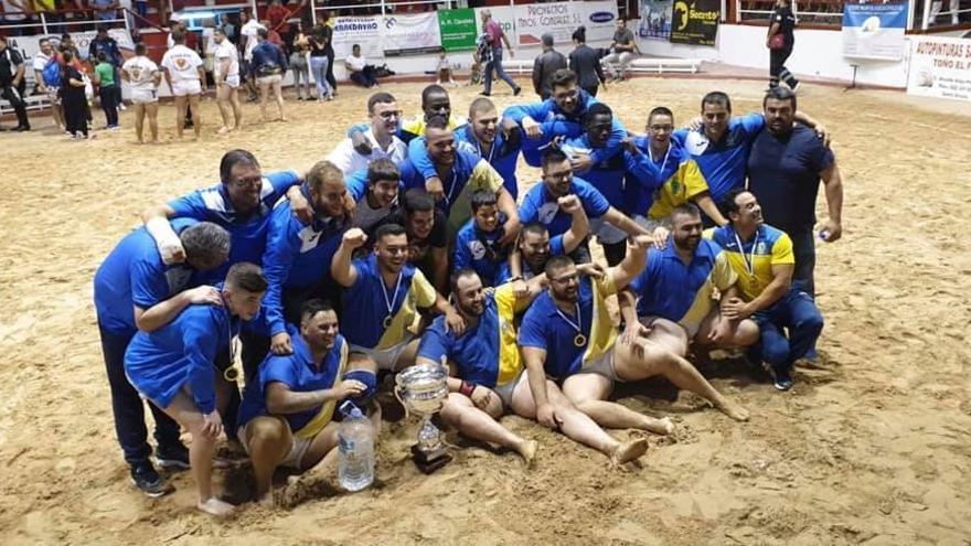 El Guamasa celebra su victoria en la Copa Cajasiete de Primera Categoría