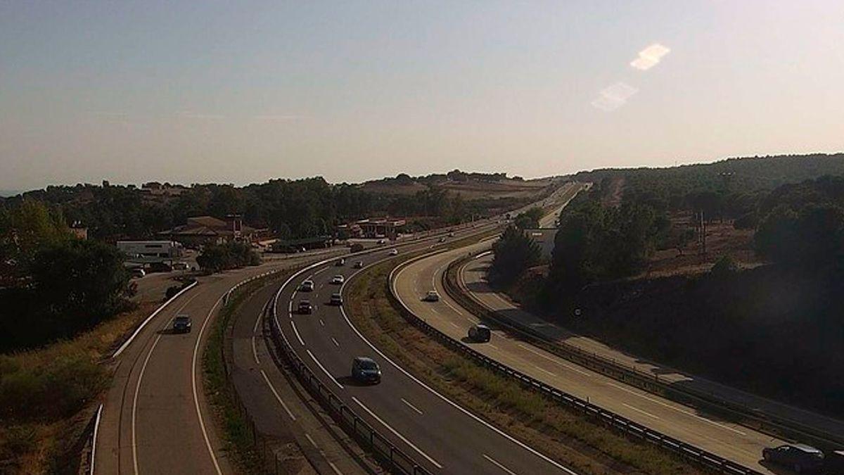 Tráfico en la A4 este domingo   DGT
