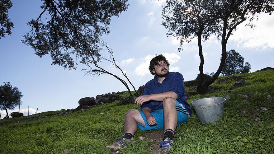 'Wwoofers', voluntarios rurales de agricultura ecológica.