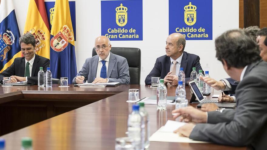 Enrque Hernández Bento, Antonio Morales y Pedro Ortega.