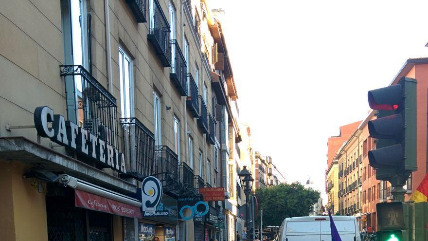 Concentración anti-machista en Madrid.