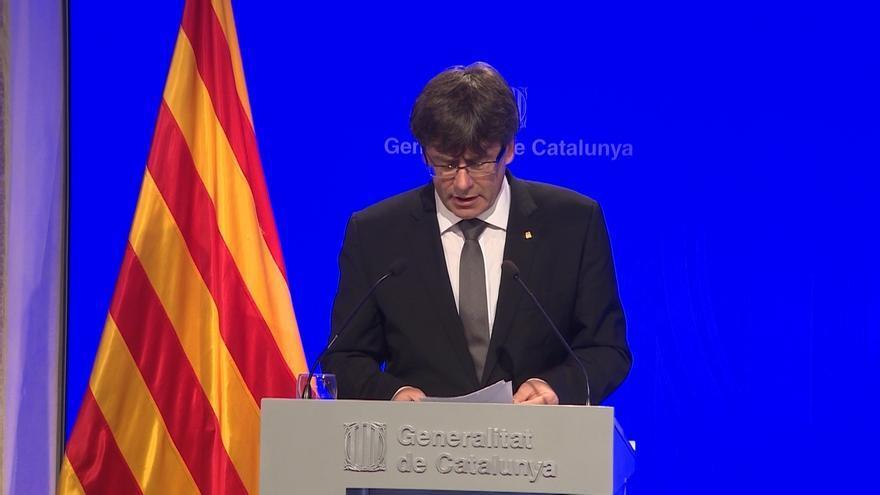 Puigdemont llama al presidente de Kurdistán para felicitarle por el referéndum