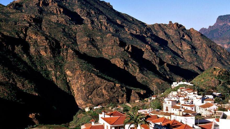 Pueblo de Tejeda.