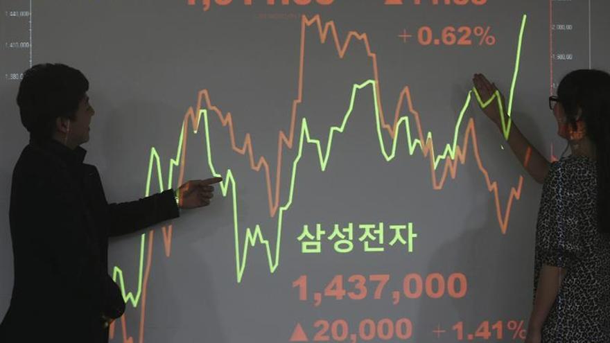 La Bolsa de Hong Kong sube un 0,82 % a media sesión