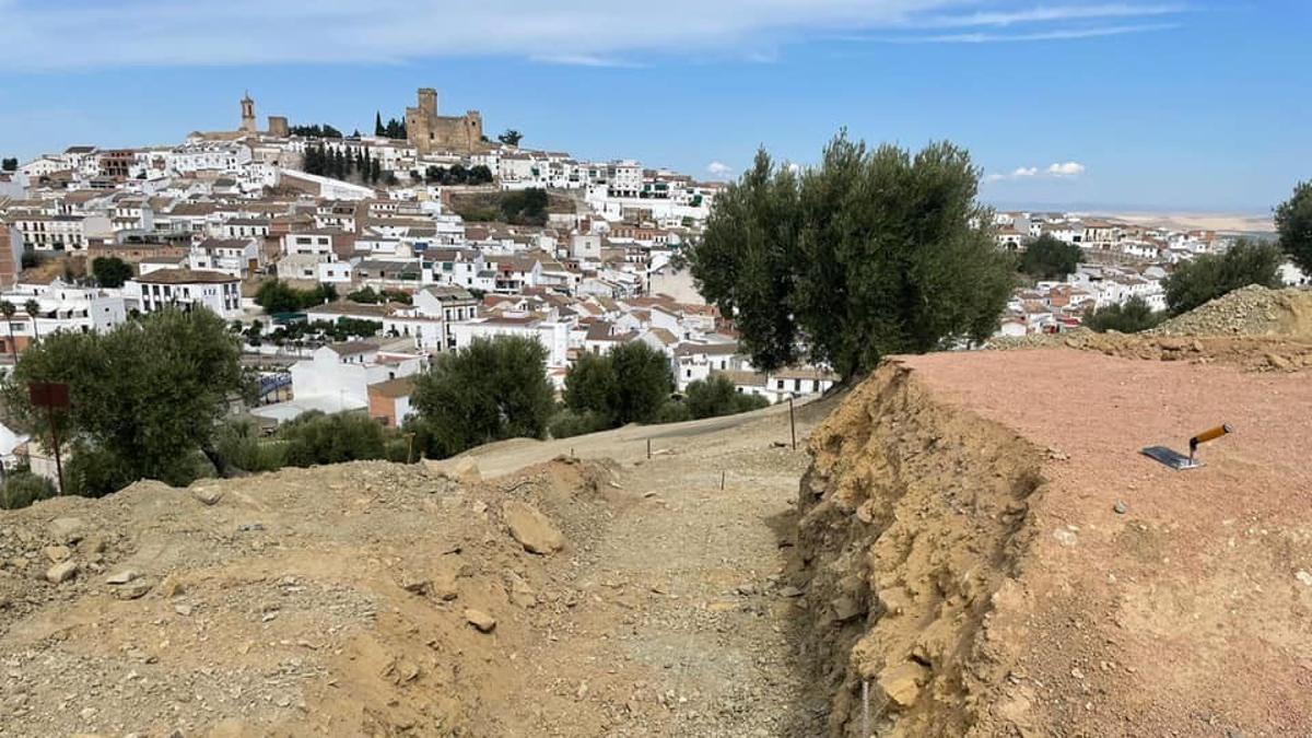 El cerro de la hoz, donde irá la escultura de El Miliciano.