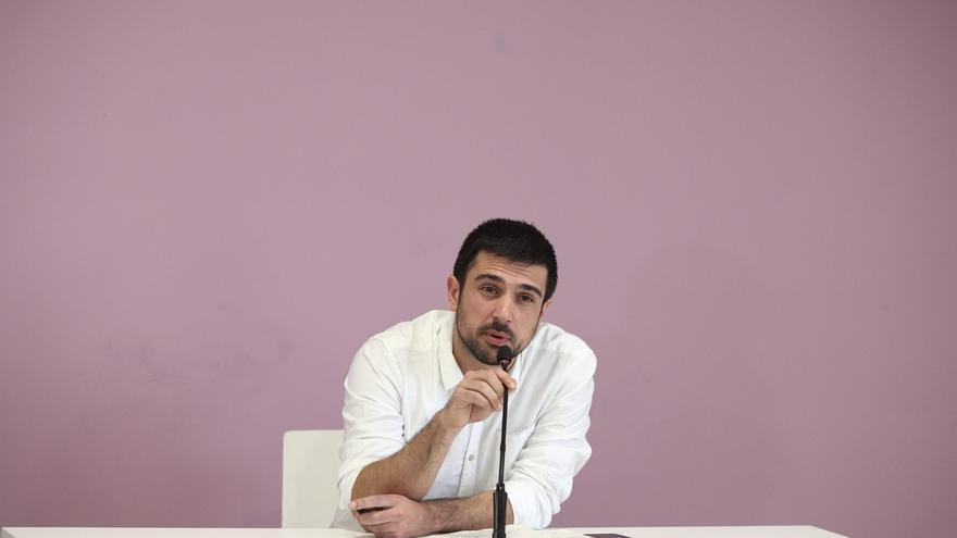 """Espinar admite que existen """"tensiones"""" en Podemos """"como en cualquier grupo humano"""""""