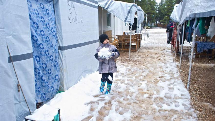 Campo de refugiados de Ritsona/ Paloma Comuñas