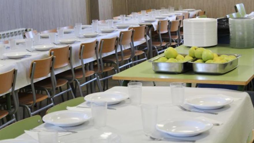 Comedor escolar en Guadalajara