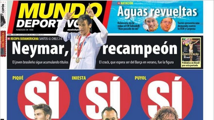 De las portadas del día (29/09/2012) #12