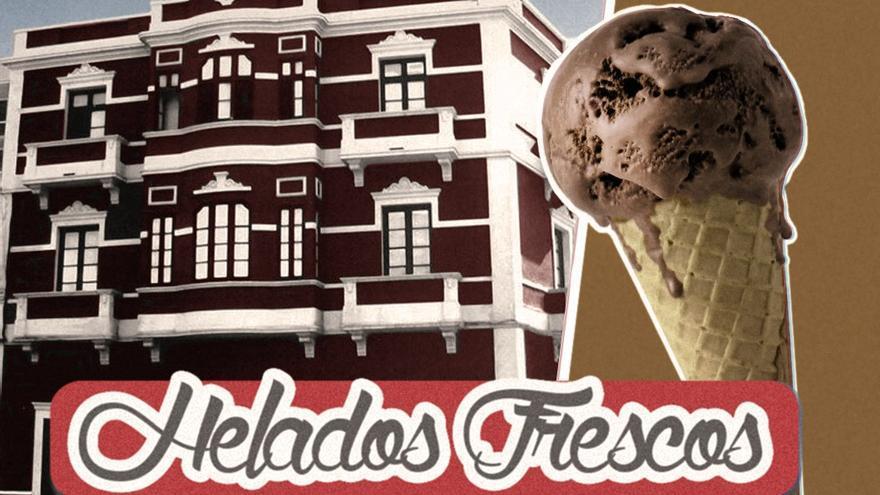 Frescos helados artesanos en la heladería 'Los Alicantinos' (Adar Santana).
