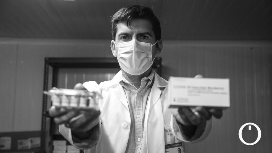 Entrevista a José Lázaro, coordinador de la vacunación en el Distrito Sanitario Córdoba y Guadalquivir