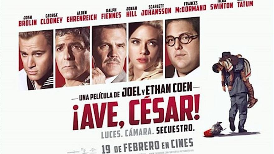 Cartel de '¡Ave, César!'