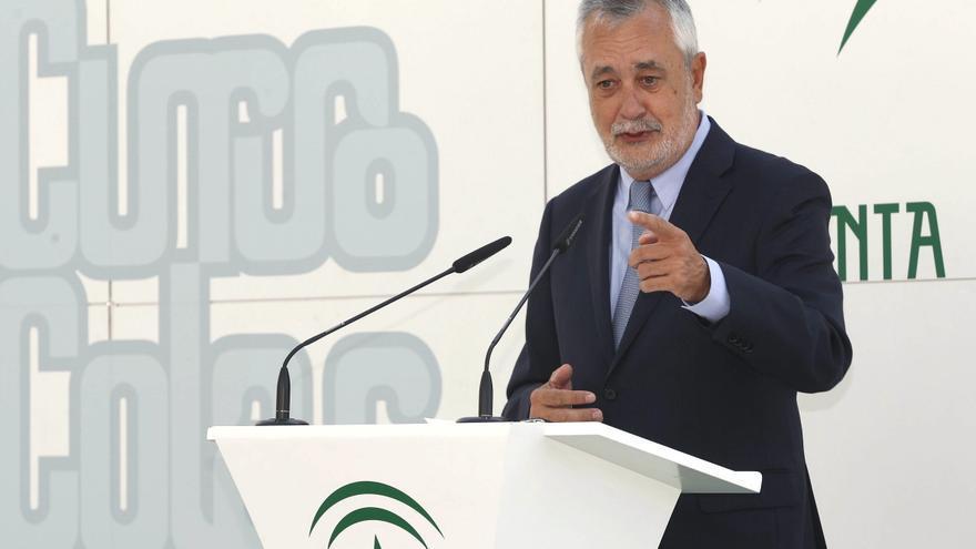 Griñán pide reforzar el consenso constitucional tras la protesta independentista