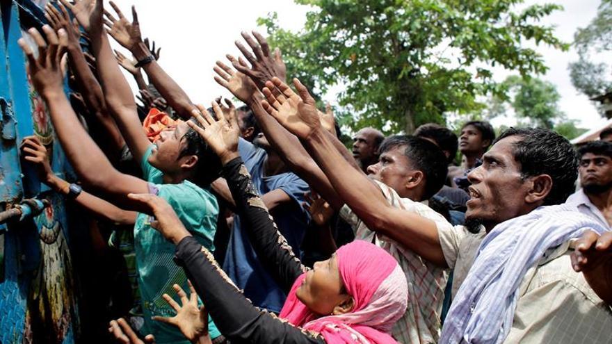 La ONU dice que el número de rohinyás refugiados podría duplicarse