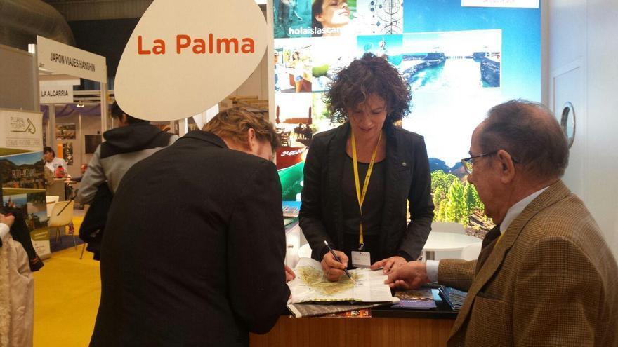 Turismo La Palma participa en la Feria Intur que se celebra en el Recinto Ferial de Valladolid.