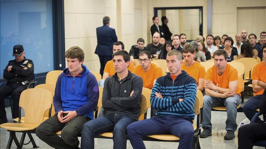 Los acusados niegan ser de Segi y participar en la violencia callejera en Pamplona