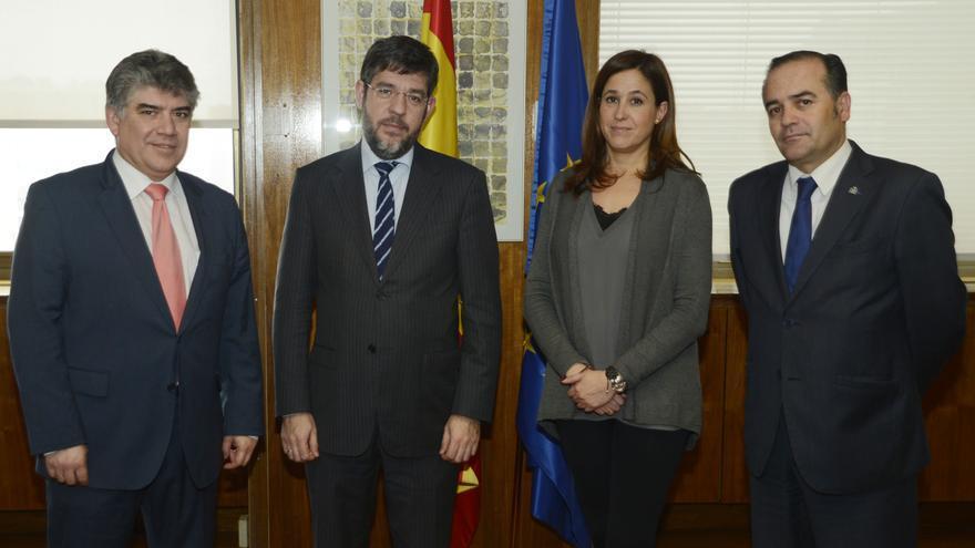 Rosa Romero y Carlos Cotillas se reúnen con el secretario de Industria, Alberto Nadal / PP