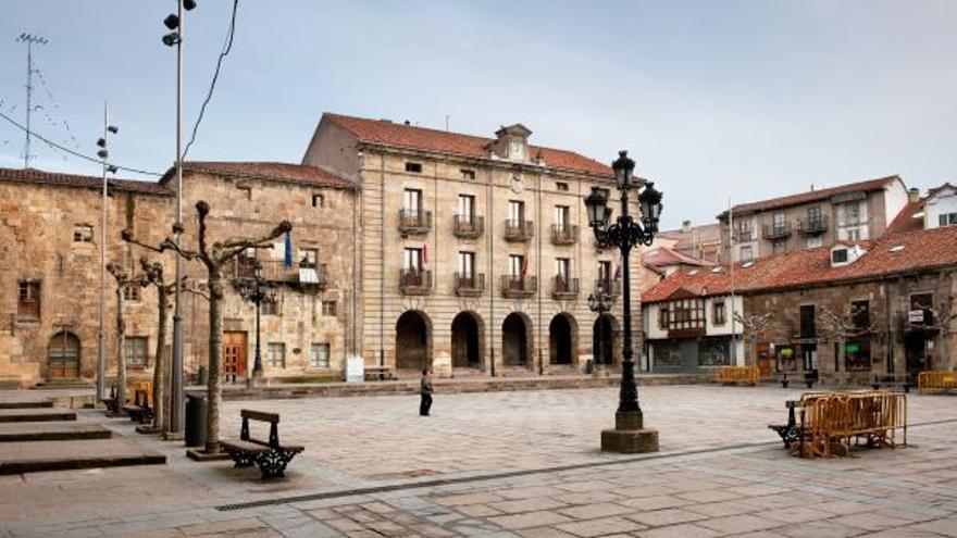 Plaza del Ayundamiento de Reinosa.