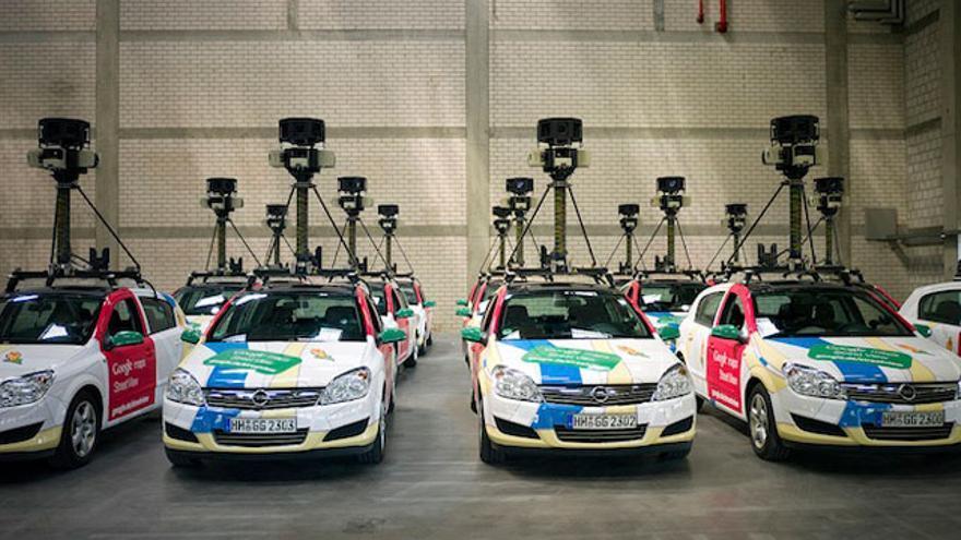 Google street View: la flota