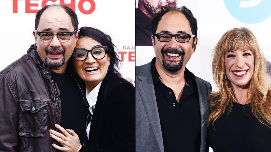 Jordi Sánchez con Silvia Abril y con Nathalie Seseña