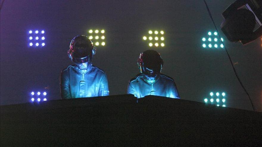 Daft Punk, primer grupo pop con Disco de Platino por escuchas en internet