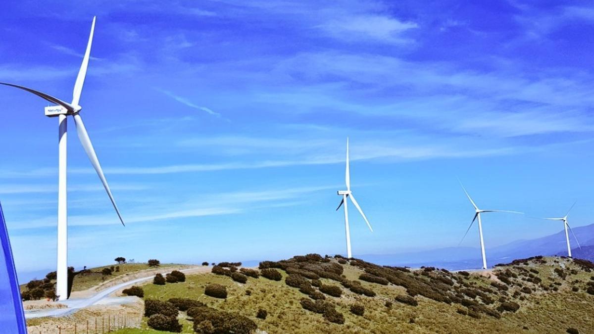 Parque eólico de Plasencia, el único de la región