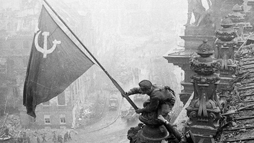 Toma del Reichstag por el Ejército Rojo