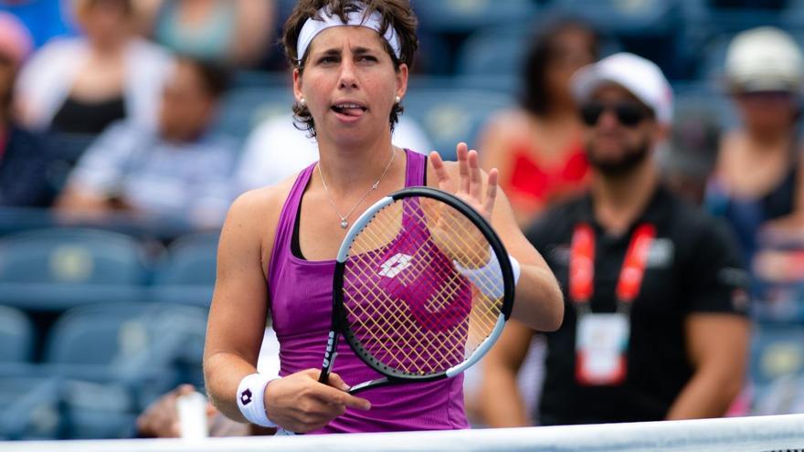 Carla Suárez recibe el apoyo de la Federación.