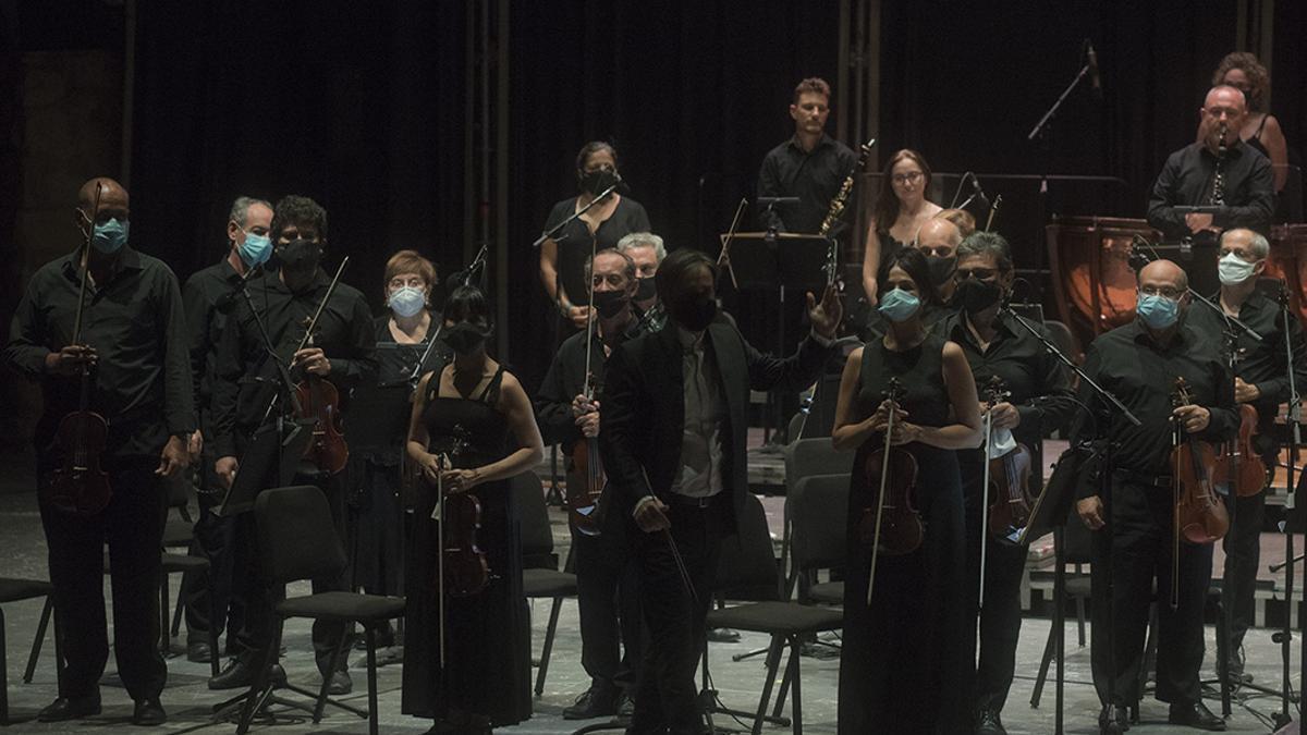 Concierto de la Orquesta de Córdoba en La Axerquía