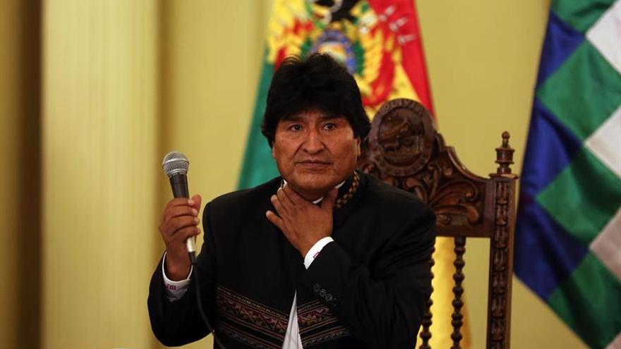 """Evo Morales tilda de """"alta traición"""" a la Tierra el retiro de EE.UU. del acuerdo de París"""