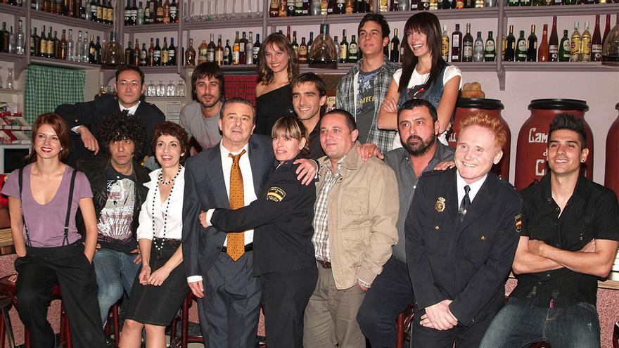 Buena parte del elenco original de 'Los hombres de Paco'
