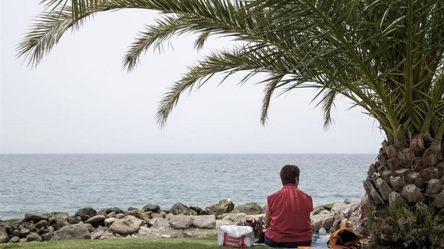 La alerta naranja sigue activa en Canarias y Andalucía