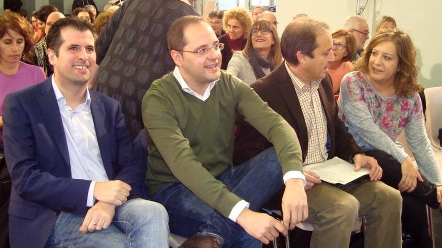 """César Luena (PSOE) recrimina a Rajoy que quiera ganar votos con el desprecio a Cataluña, adonde llega """"mal y tarde"""""""
