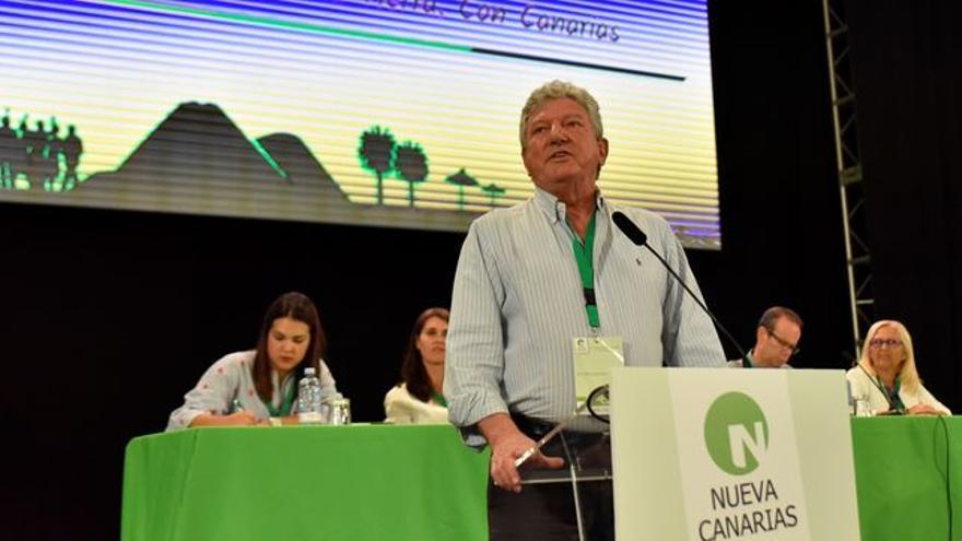 El diputado Pedro Quevedo, Nueva Canarias.