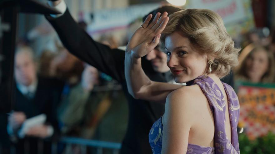 Emma Corrin, como Lady Di en 'The Crown'