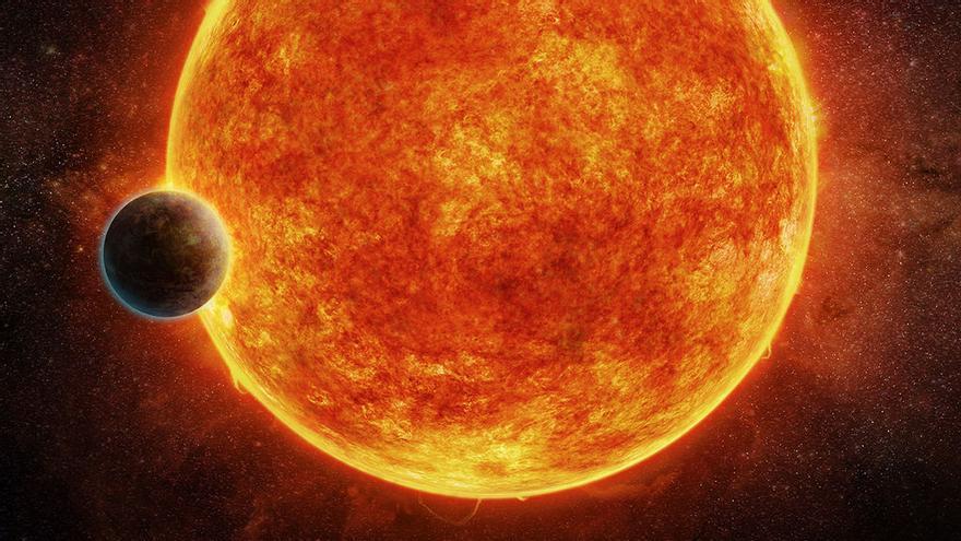 Ilustración del exoplaneta descubierto. (M. Weiss / CFA)