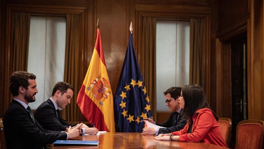 Ciudadanos pacta con el PP ocupar el segundo puesto de las listas por Álava y Vizcaya en las elecciones vascas