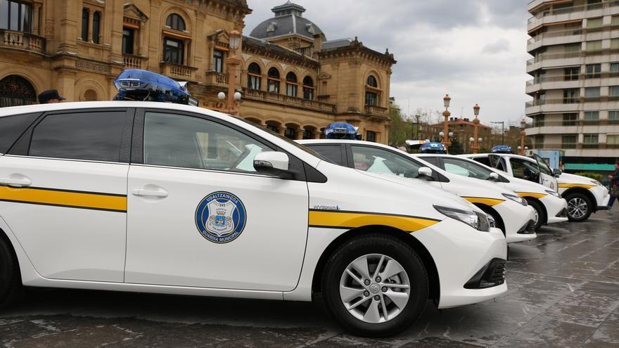 Guardia Municipal donostiarra adquiere cuatro vehículos híbridos destinados a coches patrulla para seguridad ciudadana