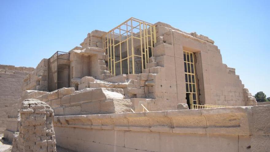 Abren al publico el templo de Opet en Luxor tras meses de restauración
