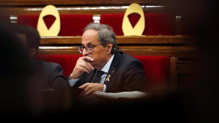 Torra da a Sánchez un mes para plantear un referéndum o le retirará el apoyo