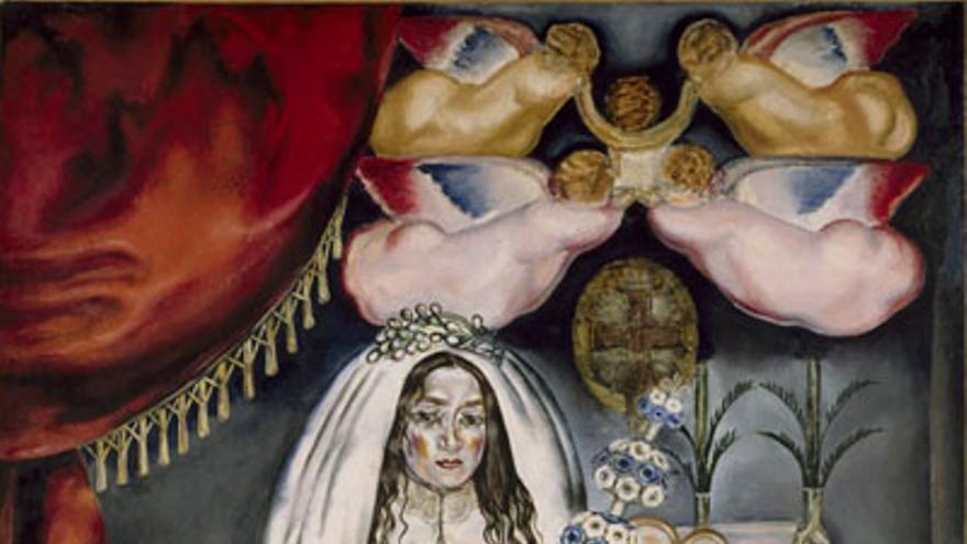 'La comulgante' de María Blanchard.