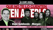 Iñaki Gabilondo en el próximo directo de 'Carne Cruda'