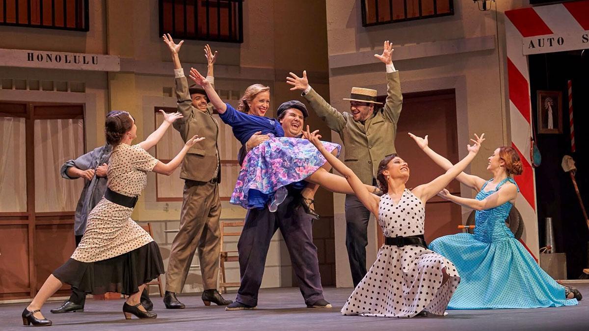 Zarzuela 'El Manojo de rosas' en el Gran Teatro
