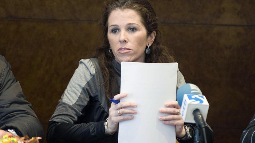 La alcaldesa de Lezama, Alaitz Etxeandia./EDN
