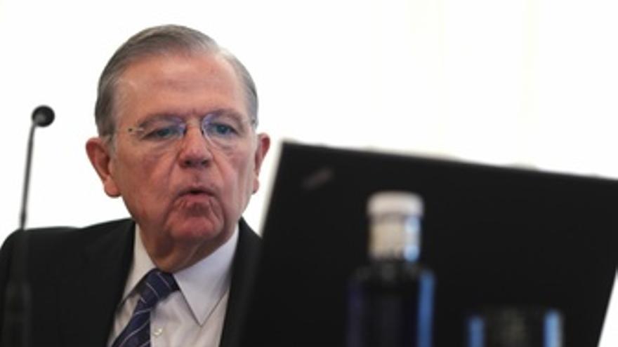El Director General Del Servicio De Estudios Del Banco De España, José Luis Malo