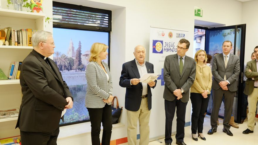 Jesús Abandonado inauguró su nuevo centro de día en Murcia